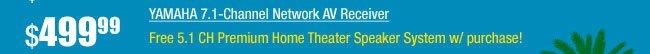 YAMAHA 7.1-Channel Network AV Receiver