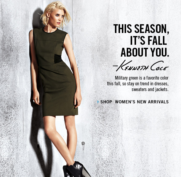 THIS SEASON IT'S FALL ABOUT YOU › SHOP WOMEN'S NEW ARRIVALS