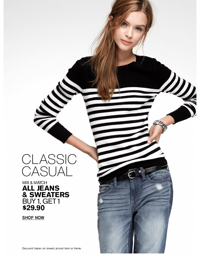 Shop Women's Jeans & Sweaters