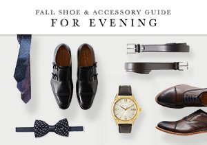 FALL SHOE & ACCESSORY GUIDE: FOR EVENING