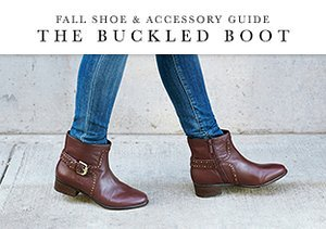 Fall Shoe & Accessory Guide: The Buckled Boot