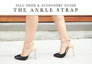 Fall Shoe & Accessory Guide: The Ankle Strap
