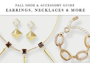 Fall Shoe & Accessory Guide: Earrings, Necklaces & More