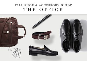 Fall Shoe & Accessory Guide: The Office