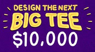 The Big Tee design 10K design challenge
