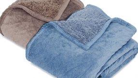 Soft Velvet Sherpa Mink Blankets & Throws