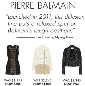 PIERRE BALMAIN - UP TO 55% OFF