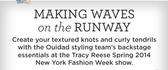 Making Waves on the Runway