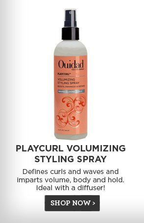 Playcurl Volumizing Styling Spray - Defines curls and waves