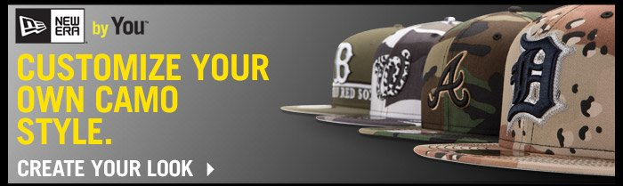 New Era By You - Customize Your Camo Style!