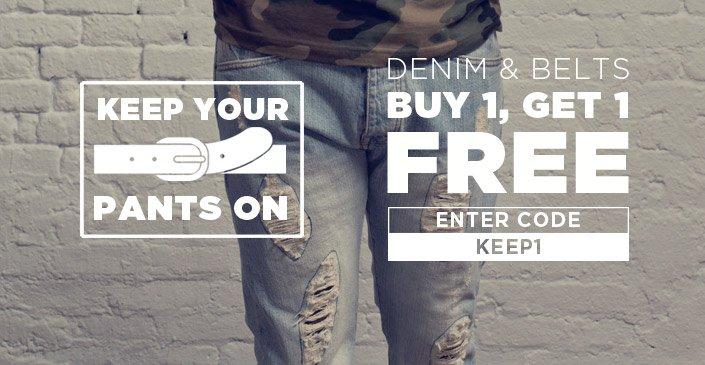 Denim & Belts