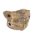 United States Army Uniform Half Face Mask