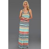 Michael Stars Happy Stripe Maxi Dress