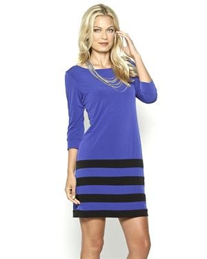 Sandra Darren Striped Tunic