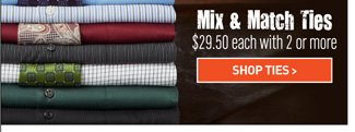 Select Ties Mix and Match