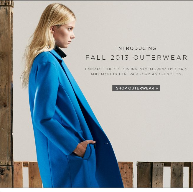 Shop Investment-Worthy Outerwear for Fall >