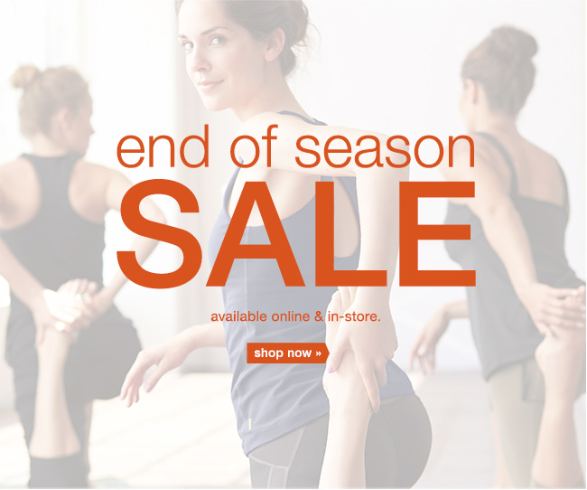 End of Season Sale. Shop now