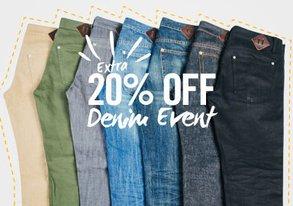 Shop Denim Event: Get an Extra 20% OFF