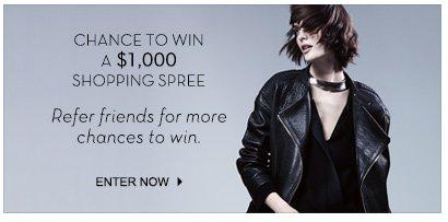 $1000 Shopping Spree