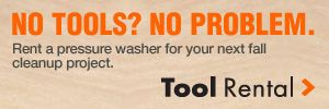 No Tools? No Problem. Tool Rental