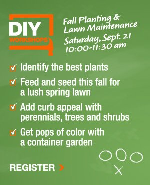 Fall Planting and Lawn Maintenance