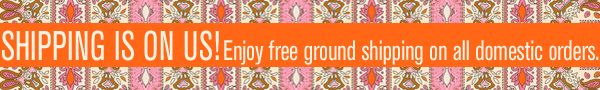 Enjoy free ground shipping on domestic orders