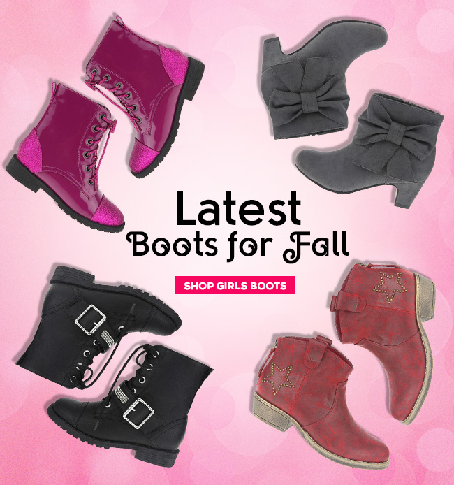 Latest Boots for Fall