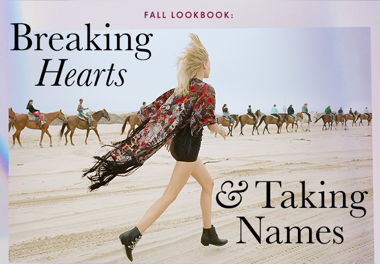 Fall Lookbook: Breaking Hearts & Taking Names