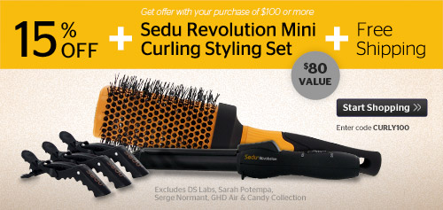 15% Off Plus Sedu Mini Curler Set