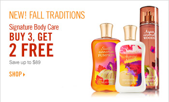 Signature Body Care – Buy 3, Get 2 Free