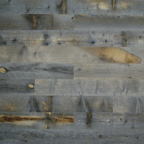 Reclaimed Weathered Wood // Dark Grey