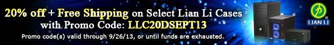 Select Lian Li Cases