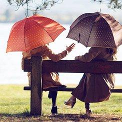 Hunters & Umbrellas