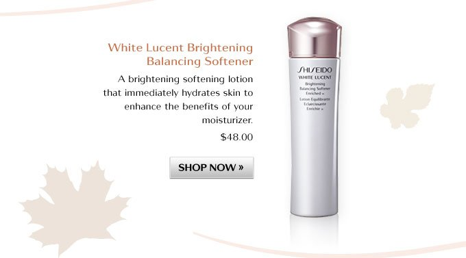 White Lucent Brightening Balancing Softener