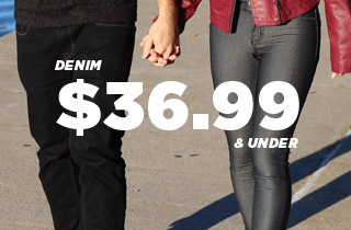 Denim: 36.99 and Under