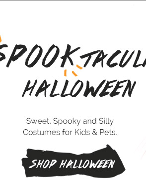 Spooktacular Halloween: Sweet, Spooky & Silly Costumes for Kids & Pets. Shop Halloween
