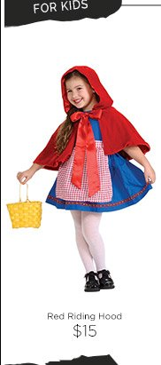 Red Riding Hood $15