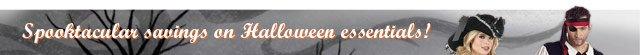 Spooktacular savings on Halloween essentials!