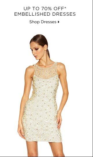 Up To 70% Off* Embellished Dresses