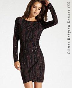 Glitter Bodycon Dresses