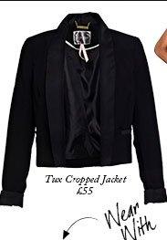 Tux Cropped Jacket