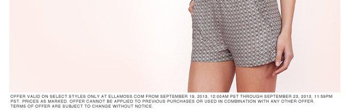 20% Off Shorts & Tanks