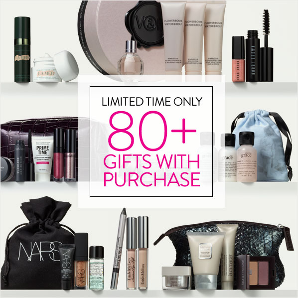 LIMITED TIME ONLY - 80+ GIFTS WITH PURCHASE