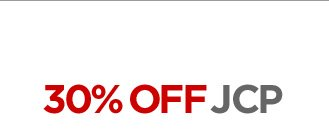 30% OFF JCP