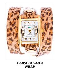 Leopard Gold Wrap