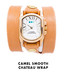 Camel Smooth Chateau Wrap