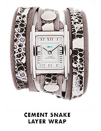 Cement Snake Layer Wrap