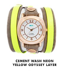 Cement Wash Neon Yellow Odyssey Layer