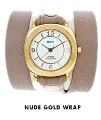 Nude Gold Wrap