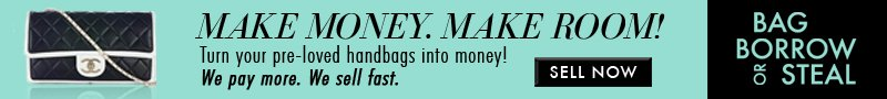 MAKE MONEY. MAKE ROOM! Turn your pre-loved handbags into money! We pay more. We sell fast. SELL NOW